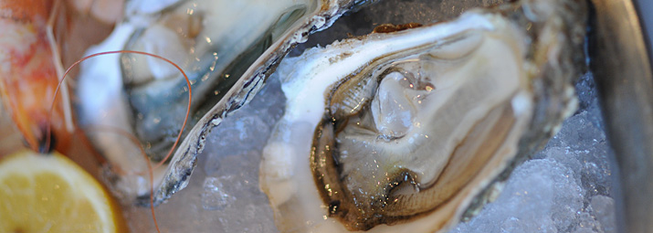 Photo fruits de mer Alsace à table